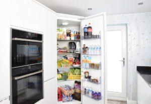 Lebensmittel im Kühlschrank gut kühlen
